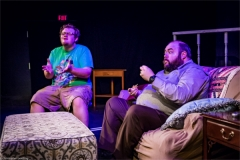 Chris (Jake Sherburne) and Steve (Telly Coolong). Photo by RCS Maine