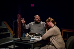 Steve (Telly Coolong) and Becky Foster (Amy Moran). Photo by RCS Maine