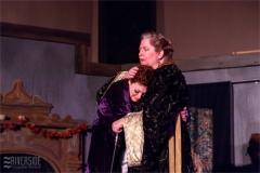 Eleanor (Julie Lisnet) and Alais (Aimee Gerow). Photo by RCS Maine