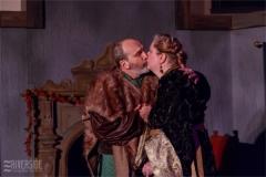 Henry (Mark Bilyk) and Eleanor (Julie Lisnet). Photo by RCS Maine